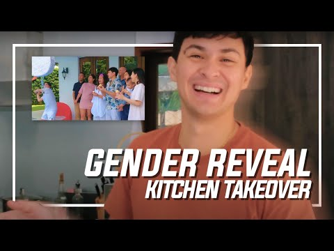IT'S A ____!!!   Gender Reveal Kitchen Takeover