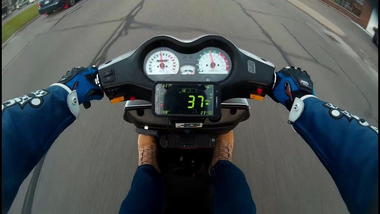 150cc Top Speed Run (GPS verified)