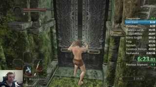 Dark Souls 2 - All bosses speedrun (with first DLC) in 1:58:35