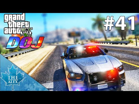 GTA V Department of Justice #41 - I am the Bad Cop - Law Enforcement