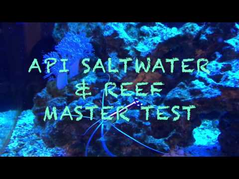 How To Test A Saltwater/reef Tank Using API Test Kit