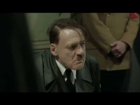 Hitler finds out Portsmouth are still a club!