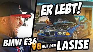 JP Performance - He is alive! | BMW E36 V8 on the LASISE