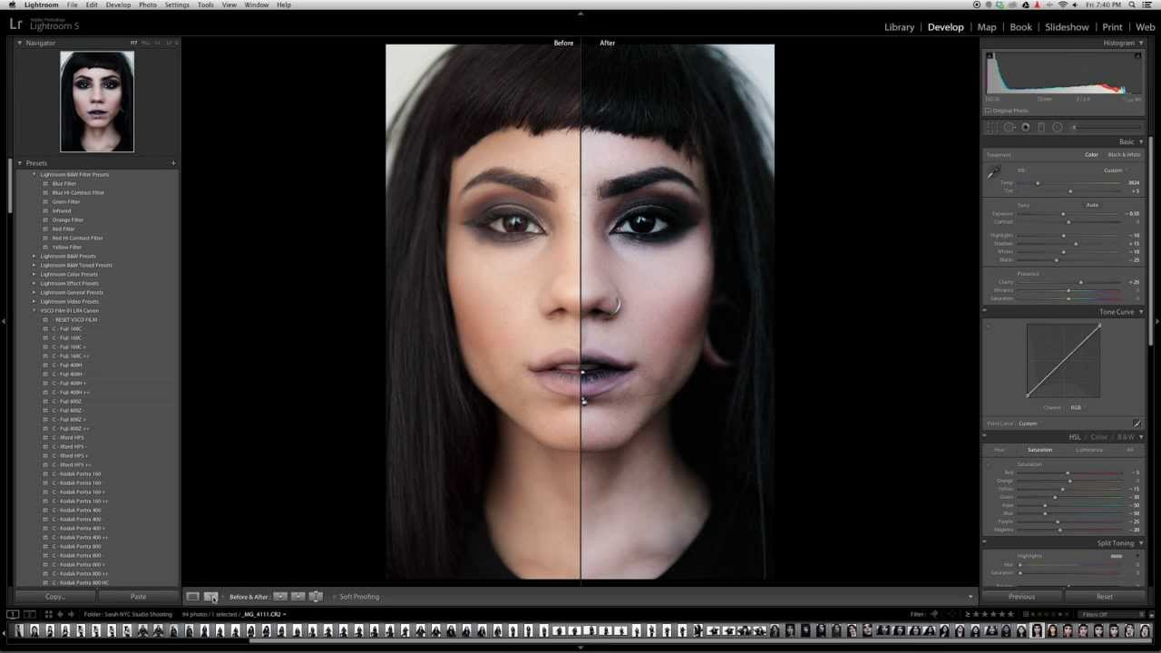 adobe photoshop lightroom 5 tutorial part1: white balance, exposure