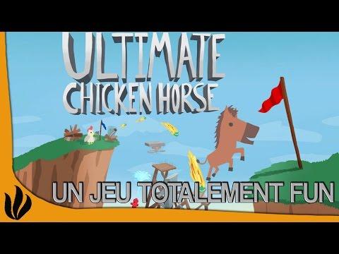 Ultimate Chicken Horse FR #1: UN JEU TOTALEMENT FUN