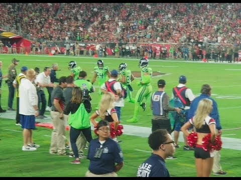 Russell Wilson to Doug Baldwin & Jimmy Graham TD - TNF