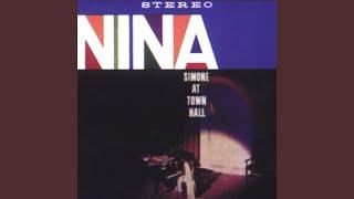 Nina simone at town hall