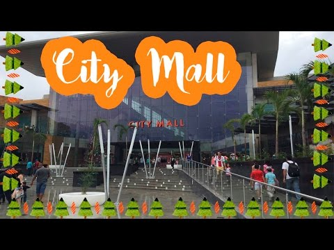Time for a ride in Costa Rica: City Mall