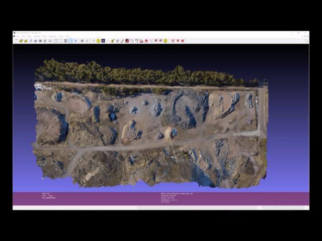3D mallinnus / kartoitus ilmakuvista.