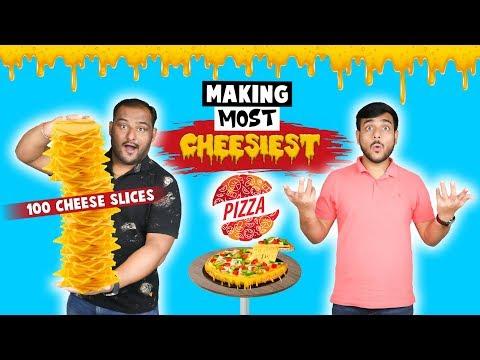 100 CHEESE SLICE PIZZA MAKING CHALLENGE | Pizza Challenge | Food Challenge | Viwa Food World