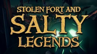 Stolen Fort Salty Legends - Sea Of Thieves