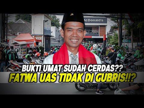 Download BUKTI UMAT SUDAH CERDAS!!FATWA UAS TIDAK DI GUBRISS!!?