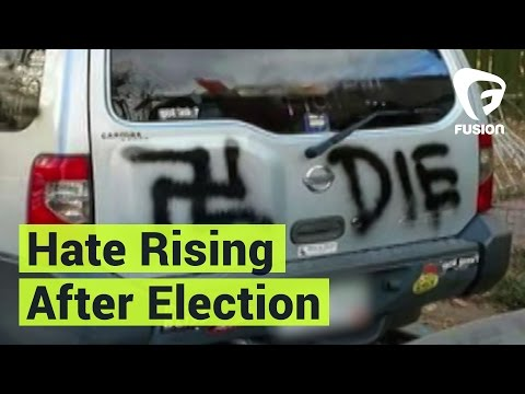 Over 400 Hate Crimes Reported Since the Election