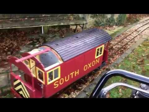 """model engineering electric train 12/24 volt, 5"""" gauge ride on garden railway."""