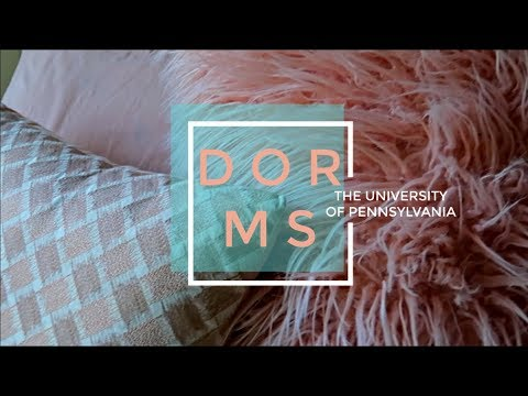DORM TOUR OF ALL FRESHMAN DORMS AT UPENN 2019