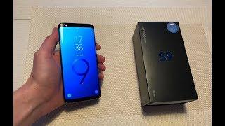 Samsung Galaxy S9 UNBOXING - Svenska