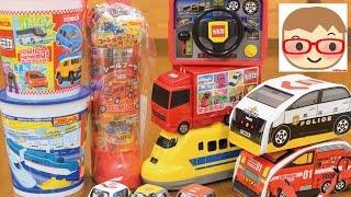 トミカ プラレール お菓子のおもちゃ ブーブー 子供向けのはたらく車,のりもの, TOMICA,Plarail