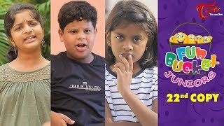 Fun Bucket JUNIORS | Episode 22 | Kids Funny Videos | Comedy Web Series