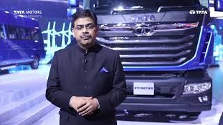 Mr. Girish Wagh, President, Tata Motors Commercial Vehicles at Auto Expo 2020