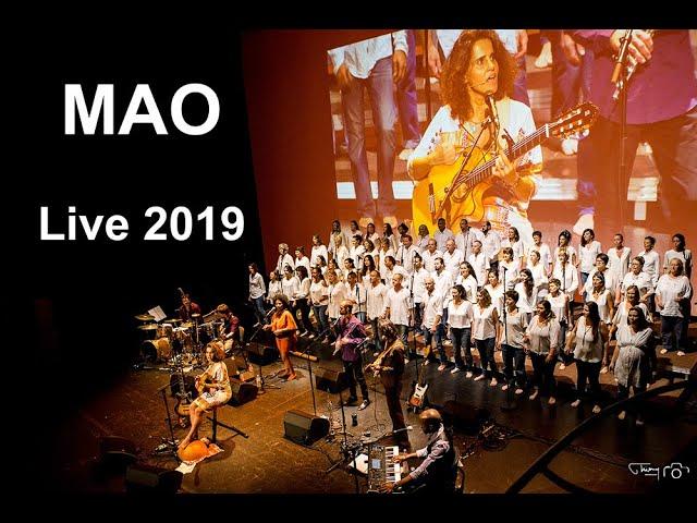 Captation live du concert de Marianne Aya Omac