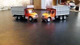 City of Matchbox: New Dump Trucks.