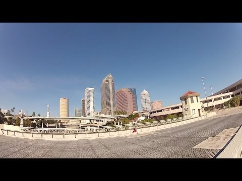 Convention Center to Channel Side Tampa Aquarium