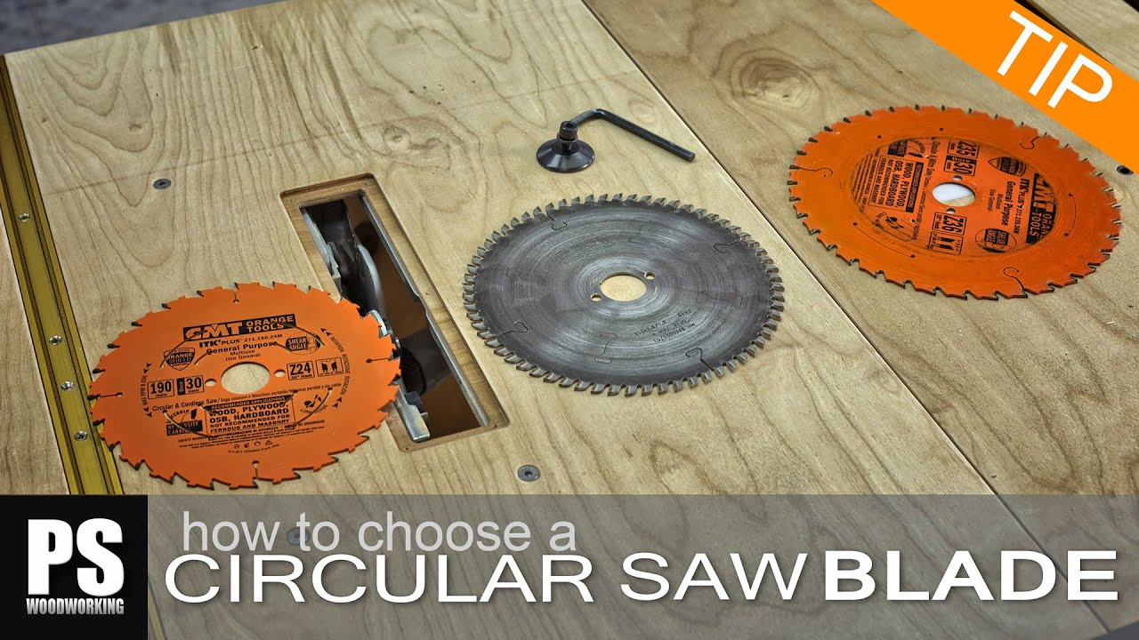 How to choose a circular saw blade youtube greentooth Image collections