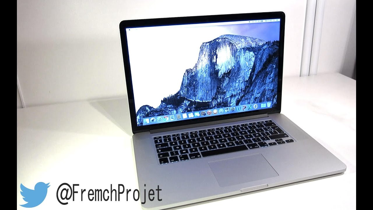 test macbook pro retina 15 pouces fran ais youtube. Black Bedroom Furniture Sets. Home Design Ideas