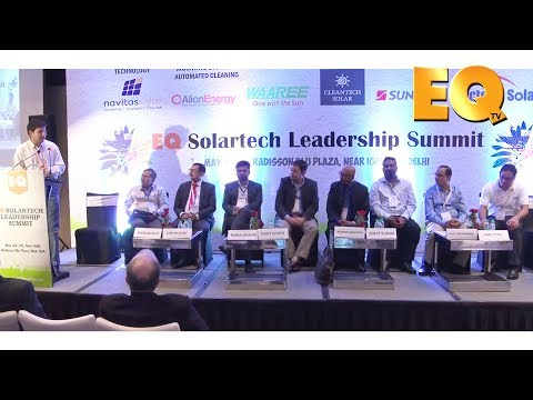 Technology Session at EQ Solartech Leadership Summit, New Delhi - Part 3