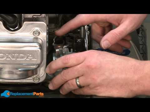 How to Replace the Carburetor on a Honda HRX217 Lawn Mower