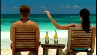Corona Beer Commercial with White Bikini Girl spot