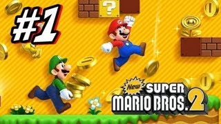 New Super Mario Bros 2 3DS - Part 1 World 1