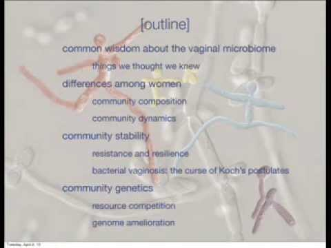 Larry Forney - Community ecology and the human vaginal microbiome