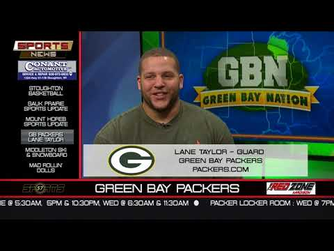 WI57 | The Sports News | GB Packers Lane Taylor | 12-10-17