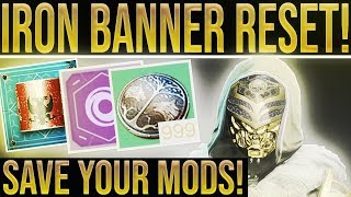 Destiny 2 Weekly Reset. SAVE YOUR MODS & BOUNTIES! Nightfall, Vendor Items, Iron Banner & More!