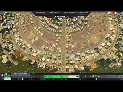 [Cities: Skylines] - Live cidade rotatória #6