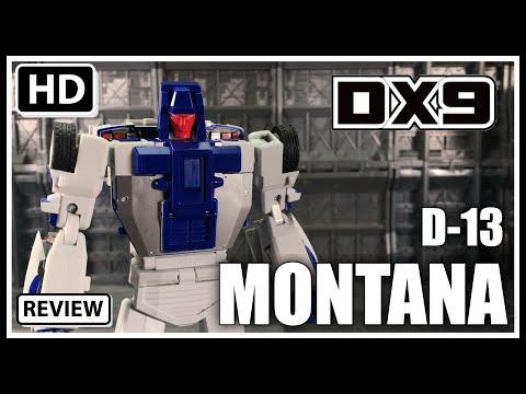 DX9 Toys D13 MONTANA Transformers Masterpiece Stunticon  BREAKDOWN