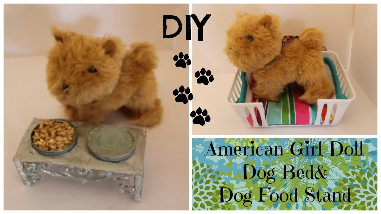 How to Make Dog Bed and Dog Bowl for Water and Food ...
