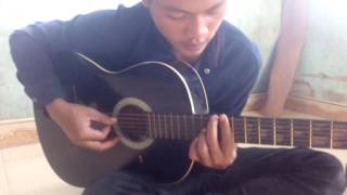Happy new year-bản cover ghita-A Lồng Tiếng