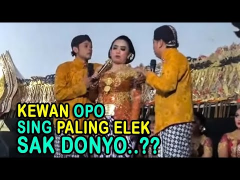 PEYE FULL LUCU - KEWAN OPO SENG PALING ELEK SAK DONYO..??
