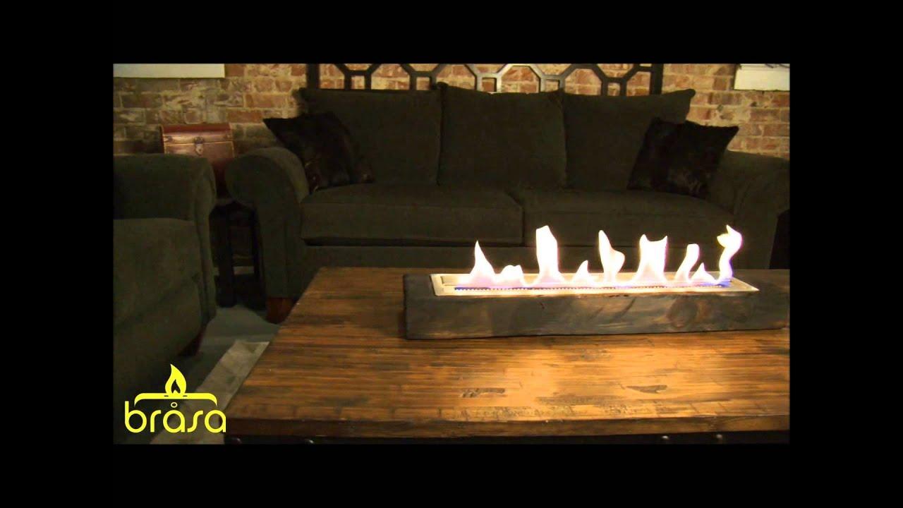 ethanol kamine von brasa fire exclusiv bei youtube. Black Bedroom Furniture Sets. Home Design Ideas