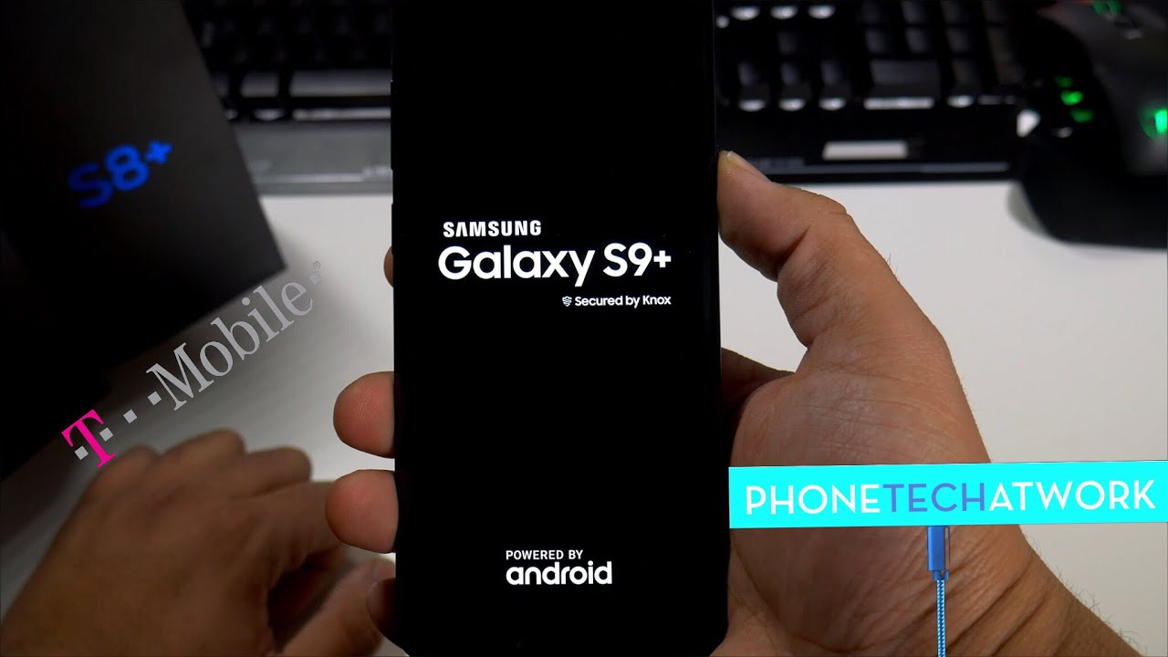 T-Mobile Samsung Galaxy S9 Plus Initial Setup/Walk Through! Bloatware?  First Thoughts
