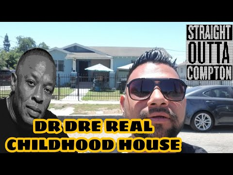 Dr Dre's Real Chilhood Home Used in Straight Outta Compton Film