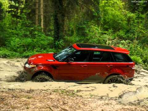 All New 2014 Land Rover Range Rover Sport Red Offroad  YouTube