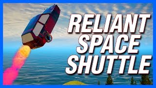 GTA 5 : Reliant Robin Space Shuttle - Top Gear Challenge!
