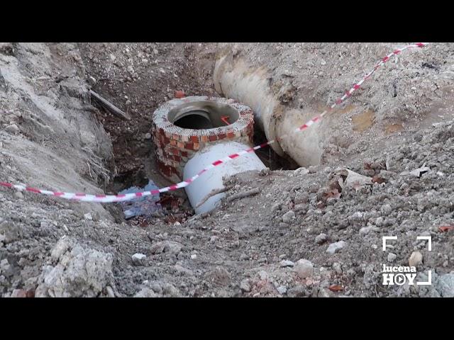 VÍDEO: Una nueva red de colectores para acabar con los vertidos al río Lucena
