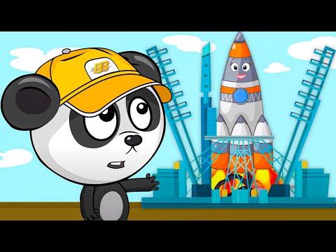 Мультики Для Детей Про Ракету и Космос - Развивающий Мультфильм