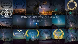 Where are the Stars? in 8k Ultra HD