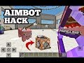 MCPE AIMBOT HACK in Minecraft PE 1 2! Command block Tutorial! AWESOME CREATION