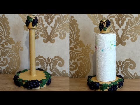 Diy paper Towel Holder Using Recycled Cardboard |Best out of waste